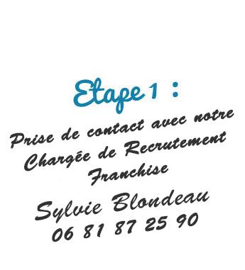 etape 1 sylvie