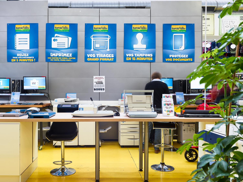 Bureau vallée propose un service de proximité aux clients
