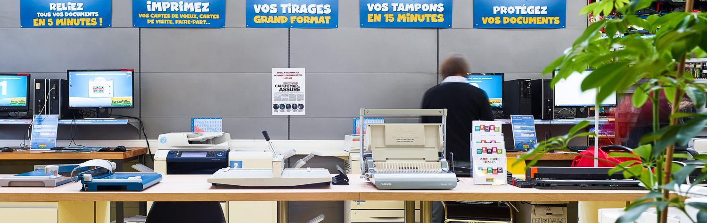 Zone service Bureau Vallée