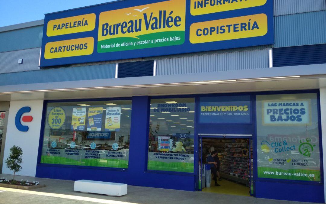 Bureau Vallée poursuit son implantation en Espagne avec l'ouverture d'un magasin près de Valence