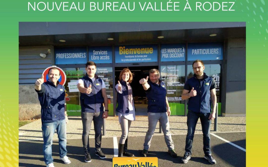 Bureau Vallée renforce sa présence en région Occitanie avec l'ouverture d'un magasin à Rodez (Aveyron)