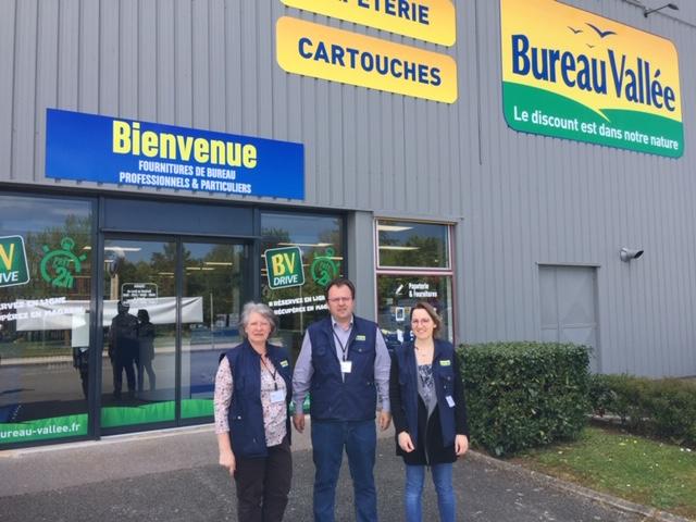 Bureau Vallée s'installe à Chaumont