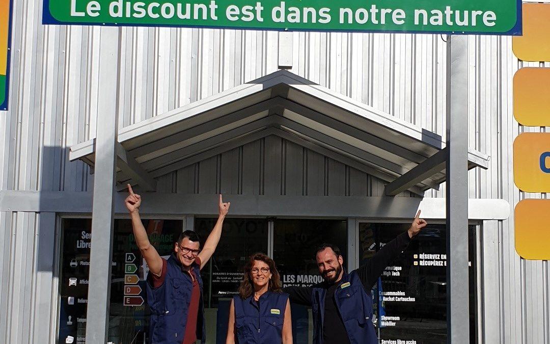 La région PACA accueille un nouveau magasin Bureau Vallée à Pertuis (Vaucluse)