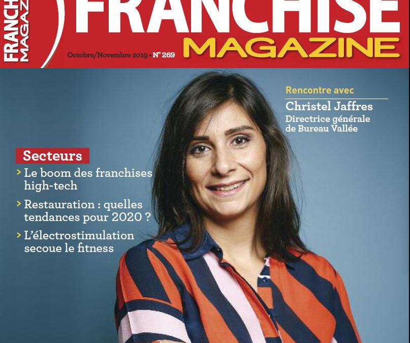 Interview de Christel Jaffres, directrice générale de Bureau Vallée sur Franchise Magazine