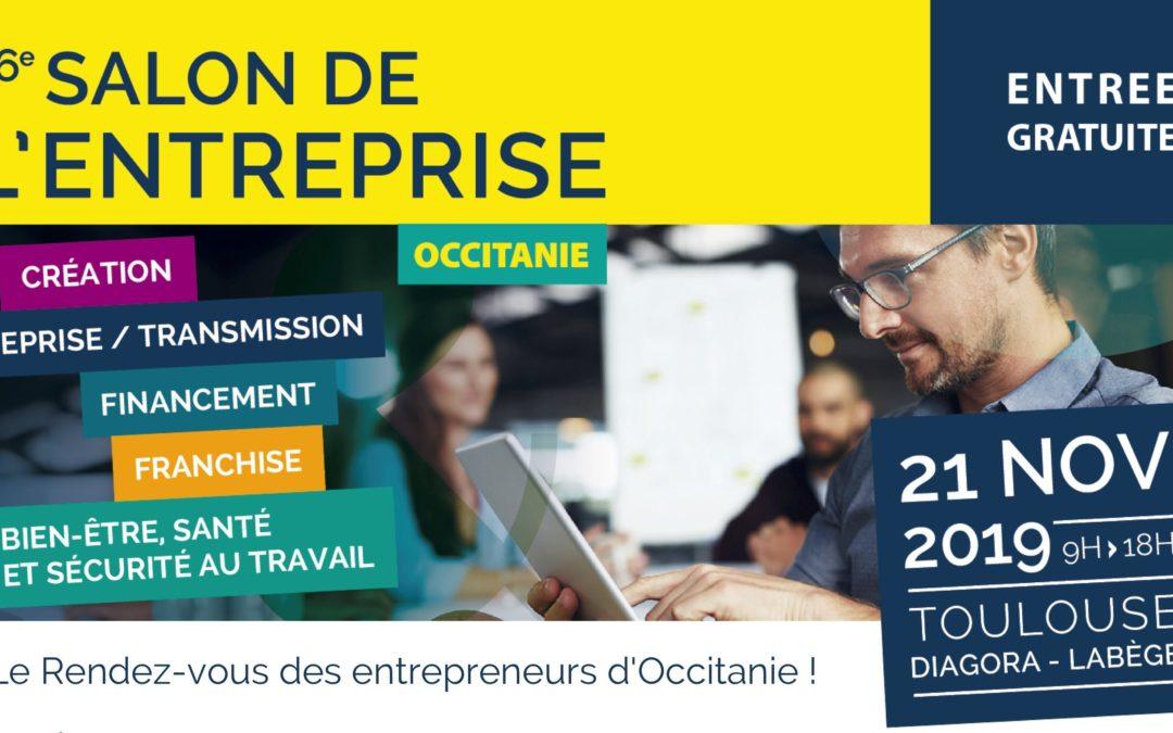 Bureau Vallée sera présent sur le salon de l'entreprise Occitanie le 21 novembre 2019 !