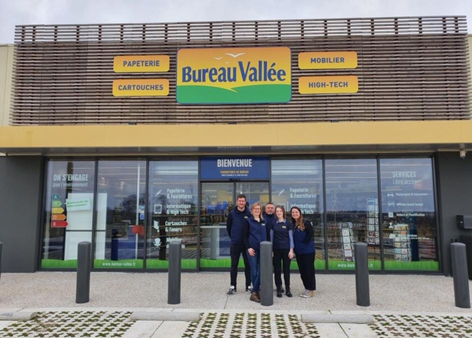 Bureau Vallée renforce sa présence en Normandie avec l'ouverture d'un magasin à Montivilliers (76)